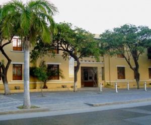 Fachada del antiguo hospital San Juan de Dios.
