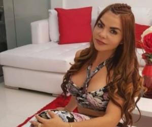 Nini Yohana Arrieta Castillo, alias la 'chica plástica'.