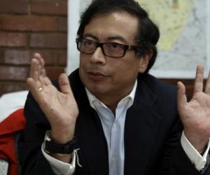 Gustavo Petro es candidato a la Presidencia de la República.