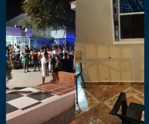 Lugar de los hechos en el barrio Vista Hermosa, en Barranquilla.
