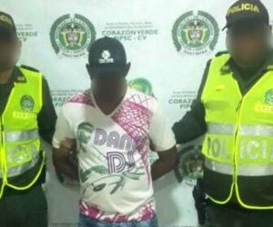 El hombre fue enviado a la cárcel de Ternera, en Cartagena.