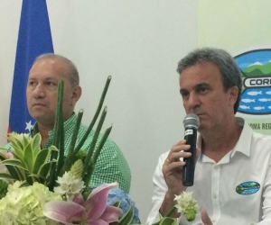 El director de Corpamag, Carlos Fransisco DíazGranados, agradeció la presencia de los asistentes.