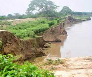 El corregimiento de Guáimaro, a orillas del río Magdalena, es una de las zonas de alto riesgo del Magdalena.