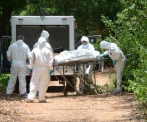 El cadáver fue encontrado en una trocha del corregimiento de La Mesa.