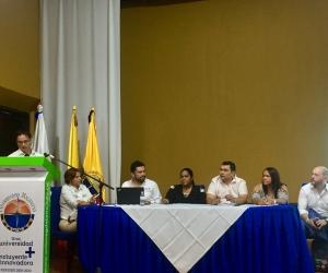 La reunión del Ocad se realizó a puerta cerrada en el Claustro San Nepomuceno de Santa Marta.