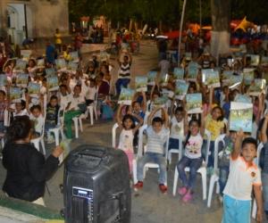 Los niños fueron los protagonistas durante el mes de abril.