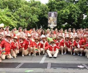 Grupo de Piloneros de la Universidad del Magdalena.