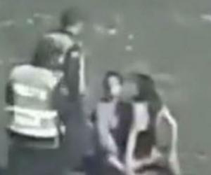 Captura de pantalla del acto sexual ocurrido a las afueras del Parque de la Leyenda Vallenata.