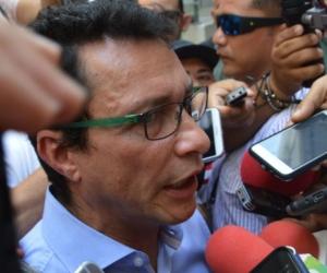 Carlos Caicedo, exalcalde de Santa Marta.