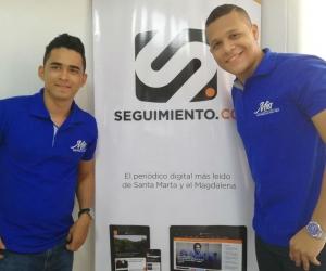 Holman Rodríguez y José Miguel Padilla.