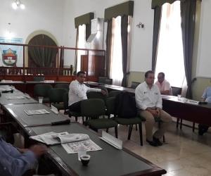 Aspecto de la plenaria de la Asamblea Departamental.