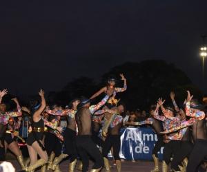 Los trajes típicos de cada baile representativo del Caribe fueron un gran atractivo para toda la comunidad universitaria.