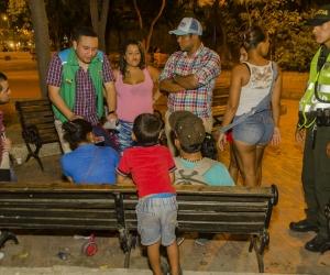 Operativos realizados por el Distrito, para proteger a menores en condición de calle.