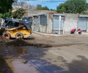 Los sectores más afectados fueron la carrera 19 con avenida de El Ferrocarril, María Eugenia y Primero de Mayo.