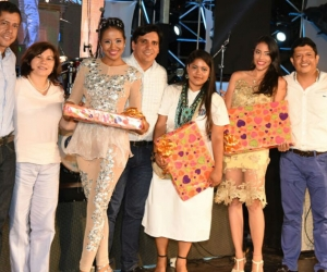 Tres estudiantes fueron premiadas como Mujer Talento Unimagdalena.