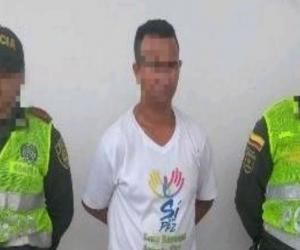 Presunto violador capturado en Aracataca.
