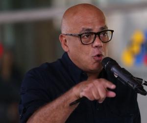 Jorge Rodríguez, ministro de Comunicación de Venezuela.