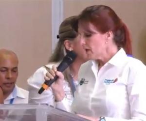 Rosa Cotes, gobernadora del Magdalena.