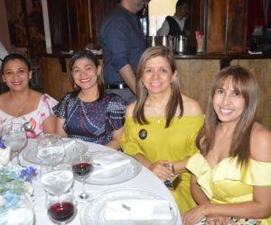 Diana Martelo, Lilian Macías, Amileth Martínez y Yennis Jiménez.