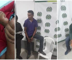 Los hombres fueron capturados luego de un operativo de las autoridades.