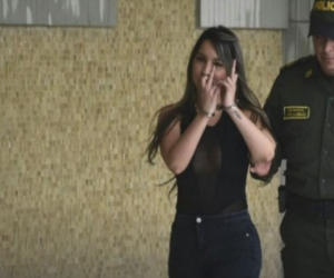 Elizenis Muñoz Navarro, alias 'La diabla'.