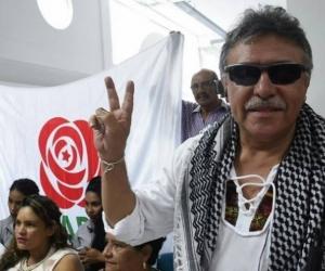 El exjefe guerrillero Seuxis Hernández, alias 'Jesús Santrich'.