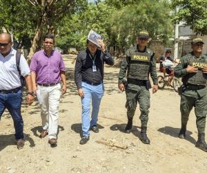 Operativos desarrollados en Taganga, en búsqueda de menores en condición de calle.