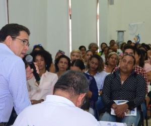 El alcalde martínez socializó las iniciativas para mejorar el deporte en la capital del magdalena
