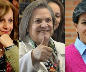 Candidatas vicepresidencial.