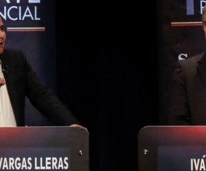Germán Vargas Lleras e Iván Duque.