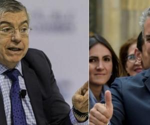 Cesar Gaviria y Iván Duque.