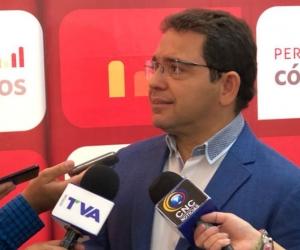 Rafael Martínez en la.Red de Ciudades Cómo Vamos, revelada este miércoles en Pereira-