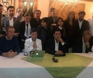 Alianza verde- Rueda de prensa.