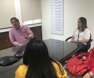 Para Santiago Rojas Arroyo, director de la DIAN, Santa Marta se caracteriza por la eficiencia en la tramitología por parte de la entidad que dirige y el trabajo conjunto con el Puerto.