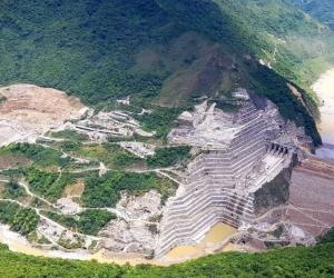 La represa de Hidroituango está en serio riesgo de colapsar por cuenta de filtraciones.