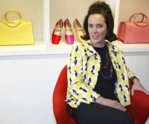 La diseñadora Kate Spade.
