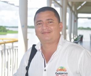 Roberto Carlos Ortiz, alcalde encargado de El Banco.