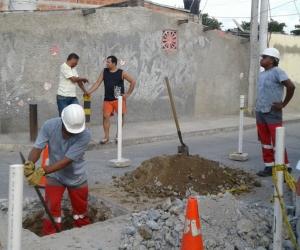 Veolia y Essmar, una vez conocieron la situación, designaron una cuadrilla para reparar el daño en la red y mejorar la prestación del servicio en esa zona de la ciudad.