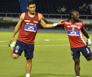 Teófilo Gutiérrez y Yimmi Chará conformaron el 'Cha-Teo'.