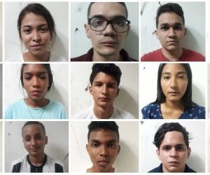 Las autoridades dieron a conocer la identidad de los jovenes.