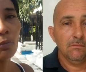 La esposa de Gilberto Luna afirma que la captura de su esposo se trató de un falso positivo.