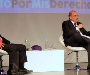 Gustavo Petro y Humberto De La Calle.