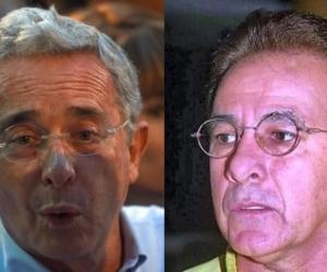 Álvaro Uribe y Eudaldo Díaz Salgado