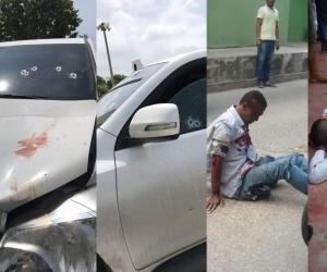 Un delincuente resultó herido, mientras que el otro murió.