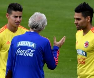 James Rodríguez se reintegró a las prácticas.