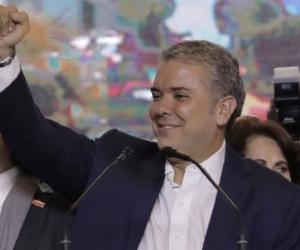 Iván Duque, nuevo presidente electo de Colombia.