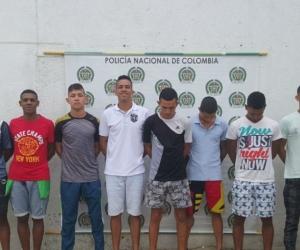 Banda 'Los Machetillas'.