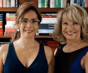 Las exministras Gina Parody y Cecilia Álvarez.