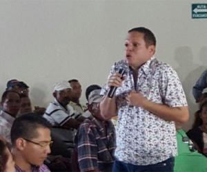 Alcalde Edgardo Pérez.