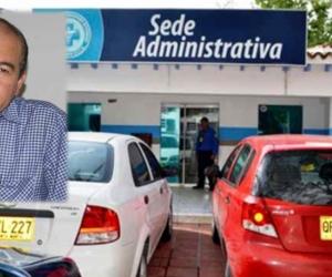 Omar Suárez Prasca, gerente de la ESE Alejandro Próspero Reverend y la sede administrativa.